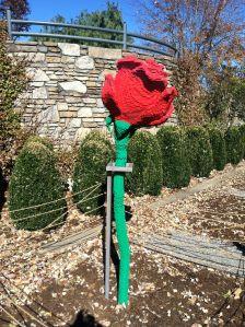 A Lego Rose
