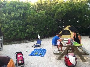 Bahia Honda camp 1