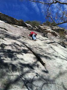 Simon Climbing
