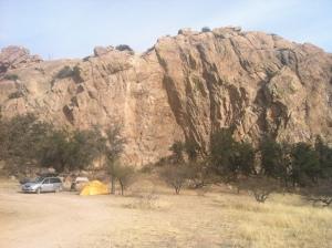 Sweet Rock camp 1